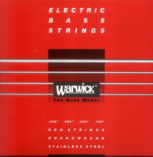 Warwick 42210 Red Lab Stainless Steel struny do gitary basowej 40-100