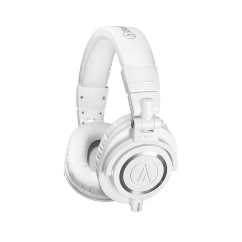 Audio Technica ATH-M50X WH (38 Ohm) słuchawki zamknięte, białe