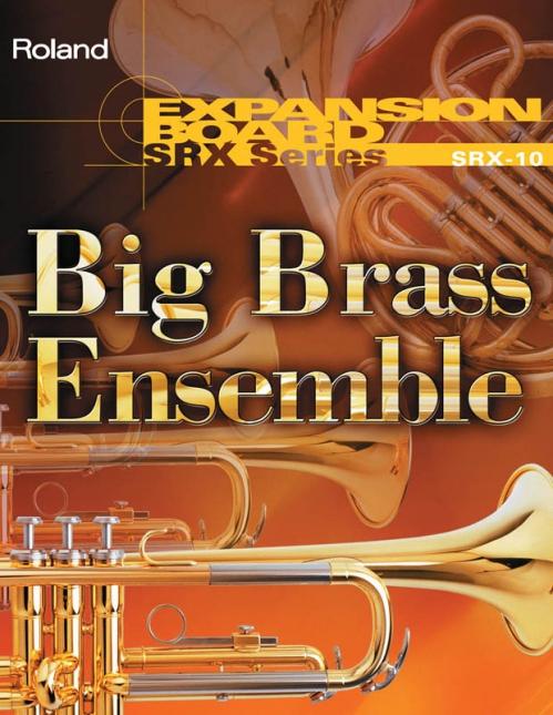 Roland SRX 10 karta rozszerzająca brzmienia - Big Brass Ensemble