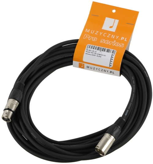 4Audio MIC 10m przewód mikrofonowy XLR-F - XLR-M