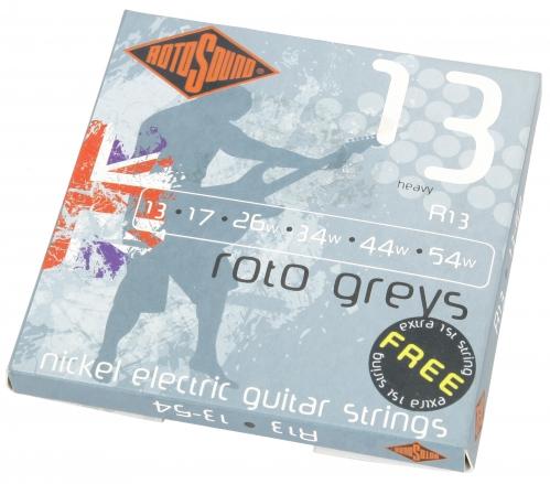 Rotosound R 13 Roto Greys struny do gitary elektrycznej 13-54