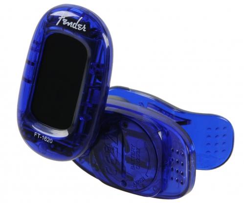 Fender FT-1620 California Lake Placid Blue tuner gitarowy klips