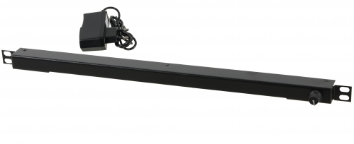 Amex 510D00 19' 0,5U LED lampka rack z dimmerem