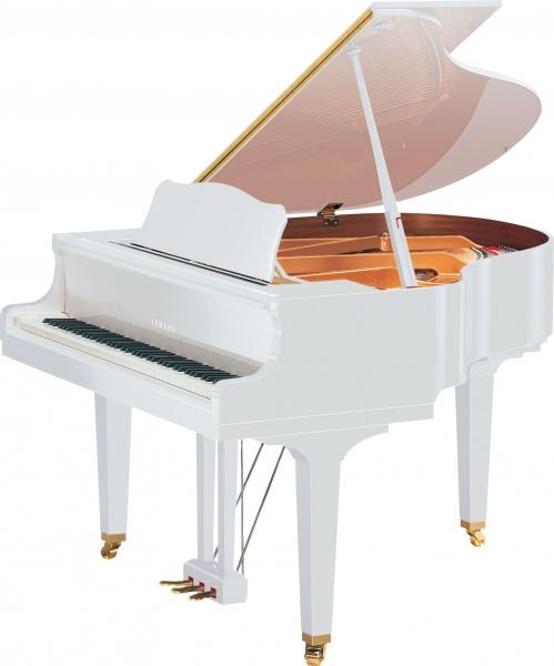 Yamaha GB1 K PWH Baby Grand fortepian, biały (151 cm)
