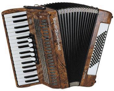 Weltmeister Achat 72 34/72/III/5/3 akordeon