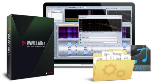 Steinberg Wave Lab 8.5 EDU program komputerowy (wersja edukacyjna), darmowy update do wersji 9.5 Pro EDU