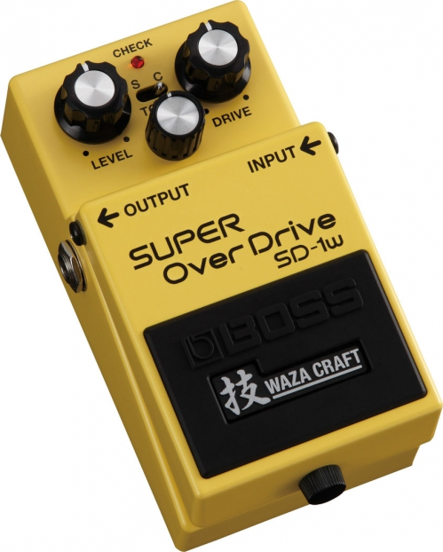 BOSS SD-1W Super Overdrive Waza Craft Special Edition efekt gitarowy