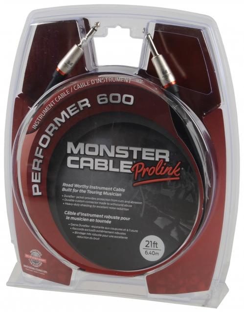 Monster P600-I-21 kabel instrumentalny J-J
