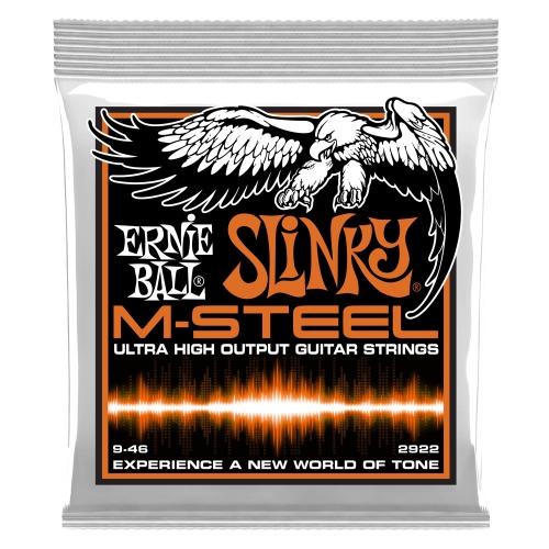 Ernie Ball 2922 M-Steel Slinky 09-46 struny do gitary elektrycznej