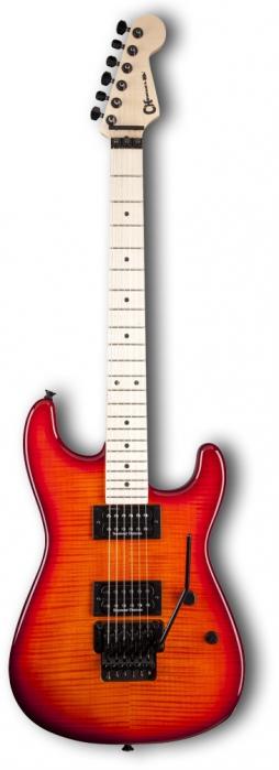Charvel Pro Mod San Dimas Style 1 2H FR Red Burst gitara elektryczna
