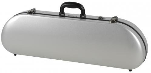 Winter / JW-eastman CE 124 4/4 S Fiberglass - futerał na skrzypce, włókno szklane, srebrny