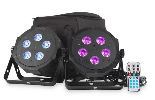 American DJ VPAR PAK - zestaw 2 reflektorów LED RGBA + pokrowiec + pilot
