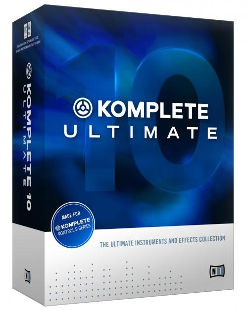 Native Instruments Komplete 10 Ultimate Update - Update z Komplete Ultimate 8 i 9
