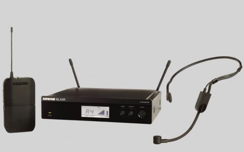 Shure BLX14RE/PGA31 PG Wireless mikrofon bezprzewodowy nagłowny PGA31, odbiornik w obudowie 1/2 rack 19″