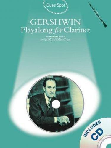 PWM Gershwin George - Playalong for clarinet (utwory na klarnet + CD)