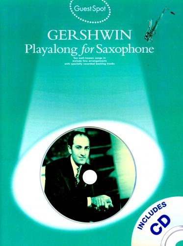 PWM Gershwin George - Playalong for saxophone (utwory na saksofon + CD)