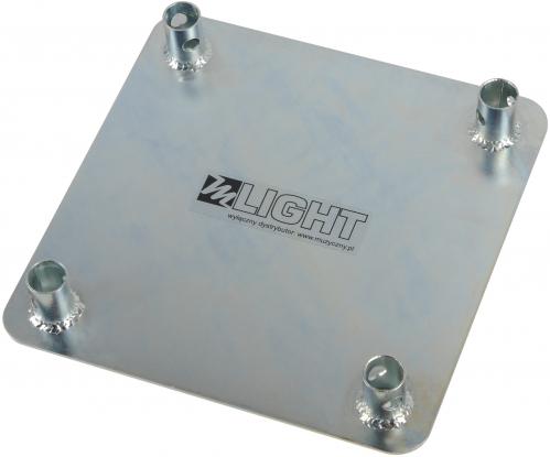 MLight Base Plate element konstrukcji - stalowa podstawa górna - ocynk
