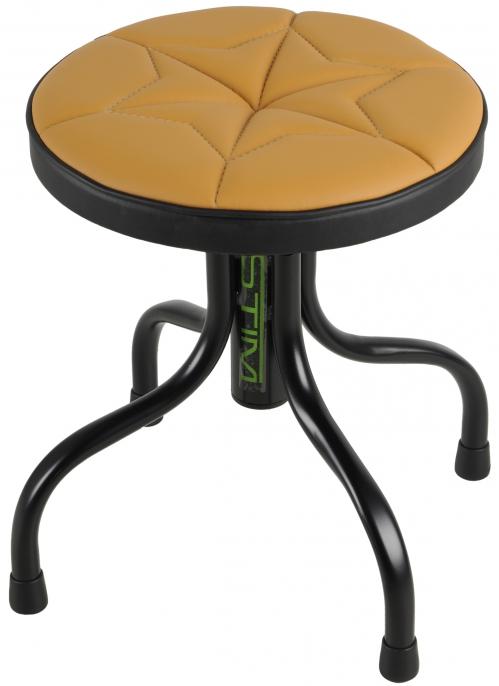 Stim ST11BE stołek mini, blokada wysokości (niski), obicie beżowe