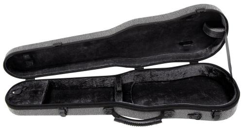 Gewa 300121 Bio S 4/4 futerał do skrzypiec 4/4 formowany (szary)