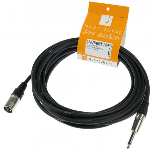 4Audio MIC 6m przewód niesymetryczny XLRm TS