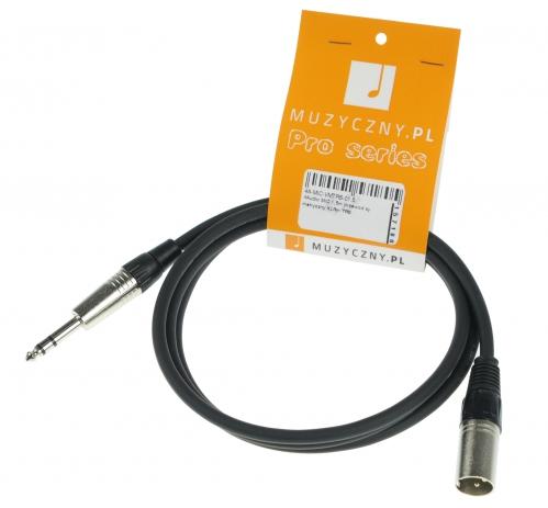 4Audio MIC 1,5m przewód symetryczny XLRm TRS