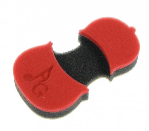 Acousta Grip PR001 Protege Red - oparcie piankowe do skrzypiec 1/8 - 1/2