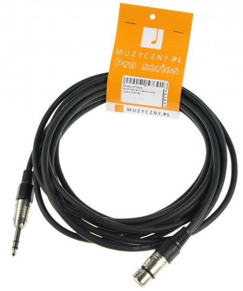 4Audio MIC 6m przewód symetryczny XLRf TRS