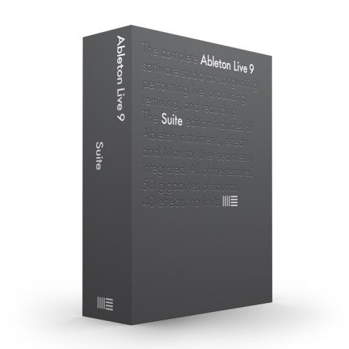 Ableton Promo Box Suite płyty instalacyjne i instrukcja do Live 9 Suite