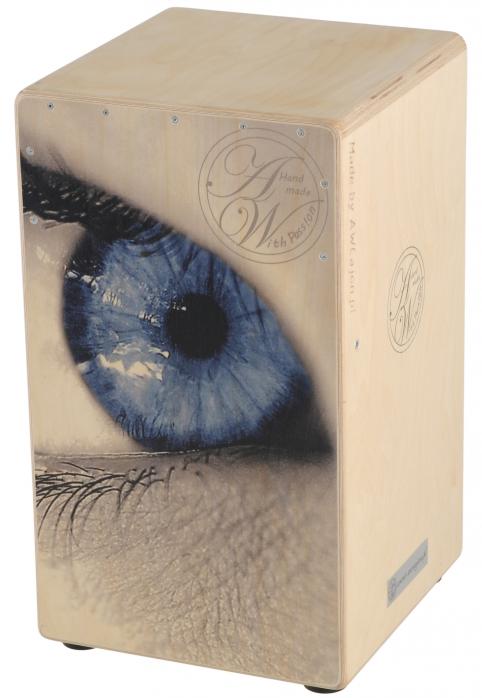 AW Cajon SP10B25DB Blue Eye Cajon instrument perkusyjny