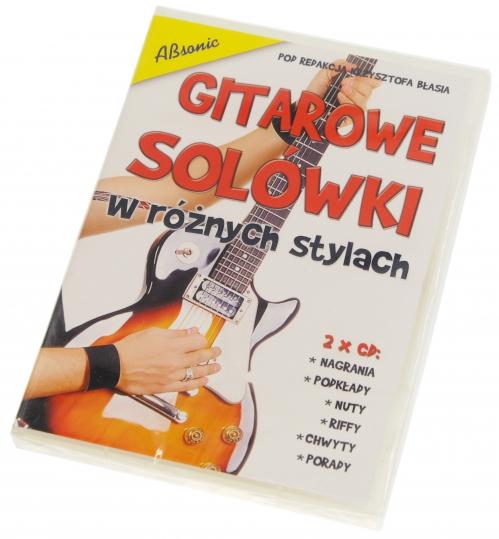 """AN Błaś Krzysztof """"Gitarowe solówki w róznych stylach"""" 2x CD"""