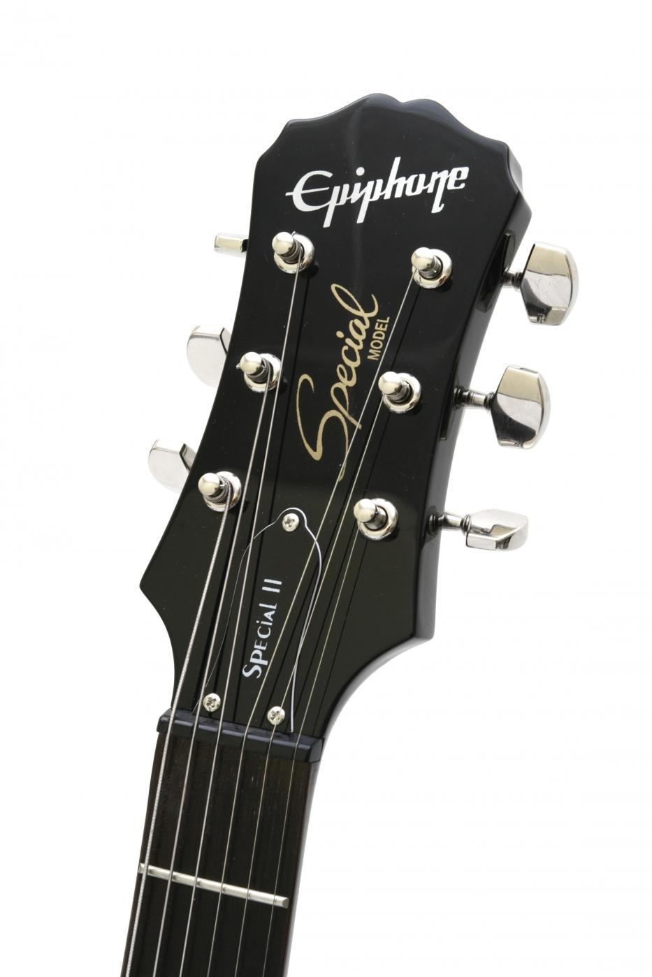 Epiphone lp special ii les paul electric guitar ebony
