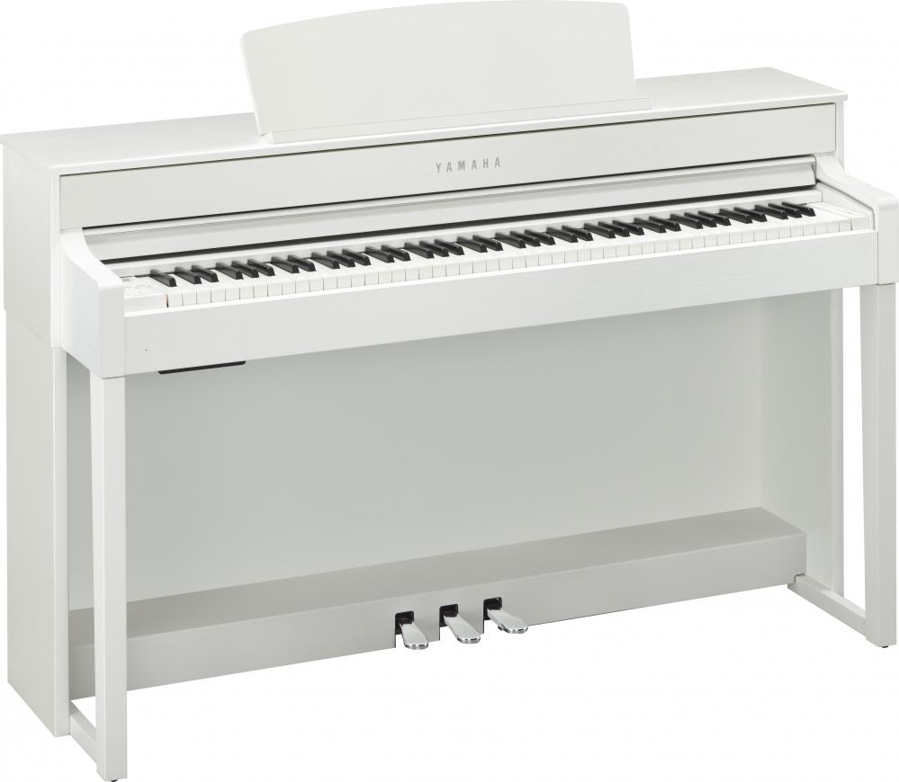yamaha clp 545 wh clavinova pianino cyfrowe kolor white. Black Bedroom Furniture Sets. Home Design Ideas
