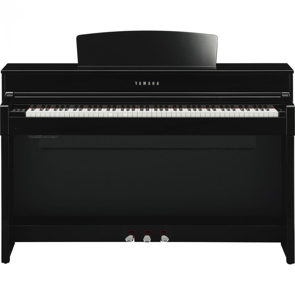 yamaha clp 575 pe clavinova pianino cyfrowe kolor polished ebony czarny po ysk. Black Bedroom Furniture Sets. Home Design Ideas