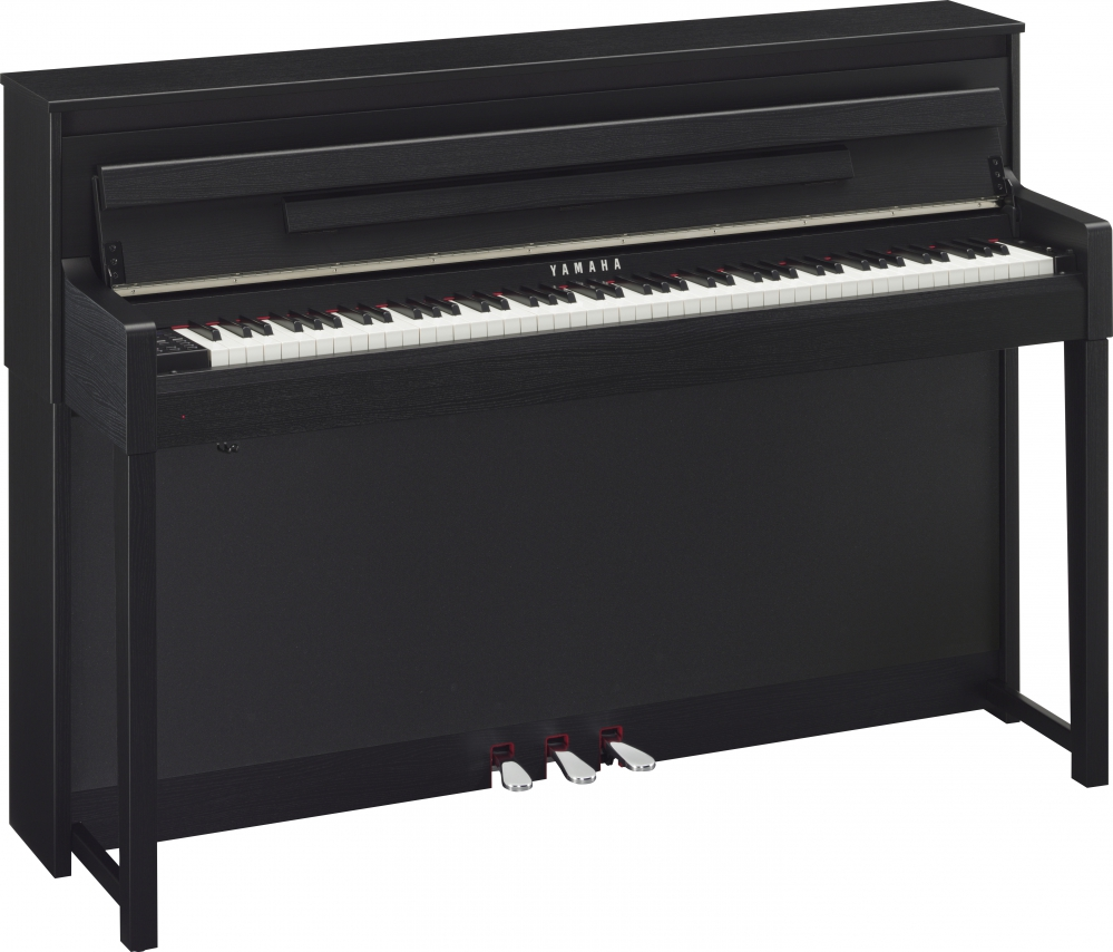 yamaha clp 585 b clavinova pianino cyfrowe kolor black walnut czarny. Black Bedroom Furniture Sets. Home Design Ideas