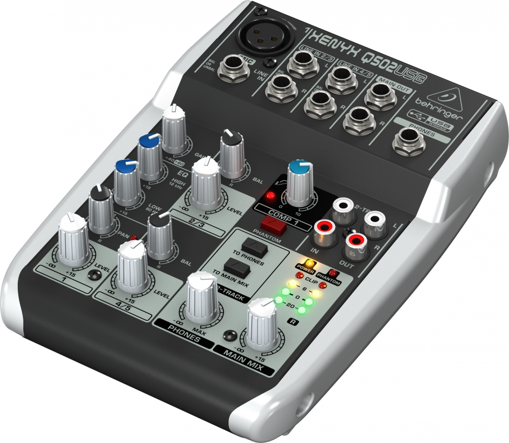 behringer xenyx 502 how to use