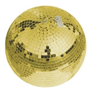Eurolite złota kula lustrzana 30cm