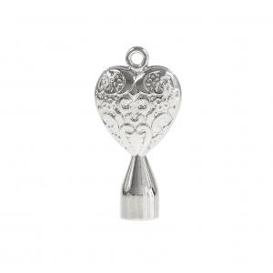 Dojo HS2 Solid Filigree Heart kluczyk perkusyjny