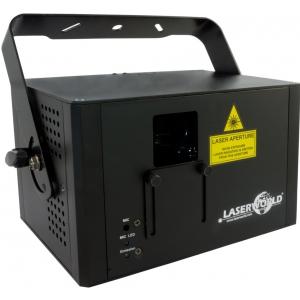 LaserWorld CS-1000RGB MKII DMX, Ilda - laser (czerwony,  (...)