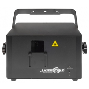 LaserWorld PRO-800 RGB PRO Series DMX/Ilda/SD Card laser  (...)