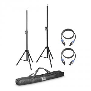LD Systems DAVE 8 SET2 zestaw 2 statywów z torbą i 2 kabli  (...)