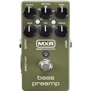 MXR M-81 Bass Preamp efekt do gitary basowej