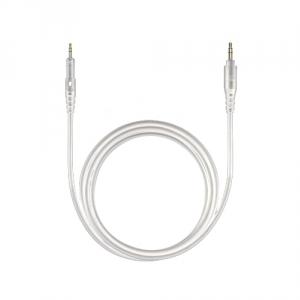 Audio Technica kabel biały 1.2m prosty do słuchawek  (...)