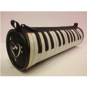 Zebra Music Piórnik z motywem klawiatury