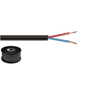 Monacor SPC-515/SW kabel głośnikowy 2x1,5 mm2, czarny