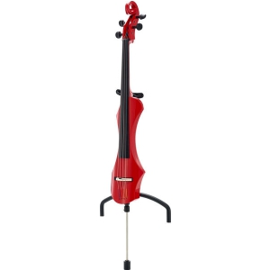 Gewa E-Cello Novita Rot -  wiolonczela elektryczna czerwona