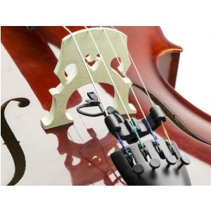 Countryman I2CH10XLR-BKIT mikrofon miniaturowy do wiolonczeli i kontrabasu, w zestawie uchwyt, charakterystyka kardioidalna, złącze XLR