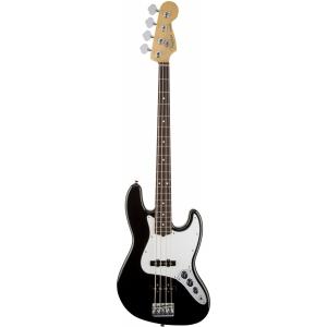Fender American Standard Jazz Bass RW Black gitara basowa, podsturnnica palisandrowa - WYPRZEDAŻ