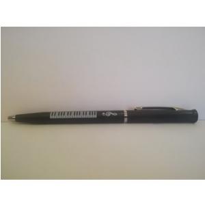 Zebra Music Długopis z motywem klawiatury fortepianu