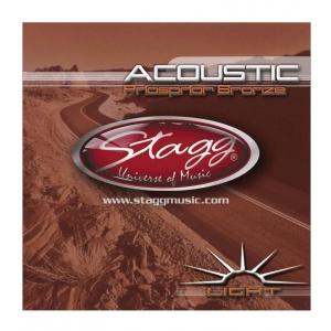 Stagg AC1254BR struny do gitary akustycznej 12-54