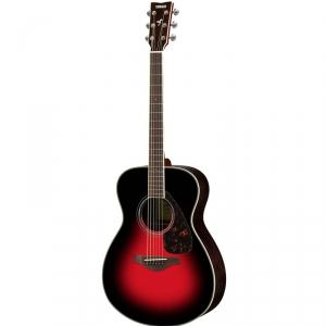 Yamaha FS 830 Dark Sun Red gitara akustyczna